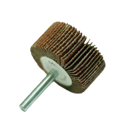 "2/"" x 1/""  1//4/"" Shank 120 Grit Flap Wheels Firm Aluminum Oxide 10pcs CGW 39934"